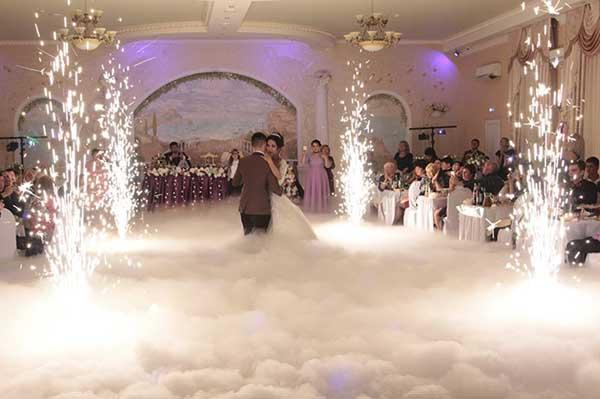 дым на свадьбу Минск