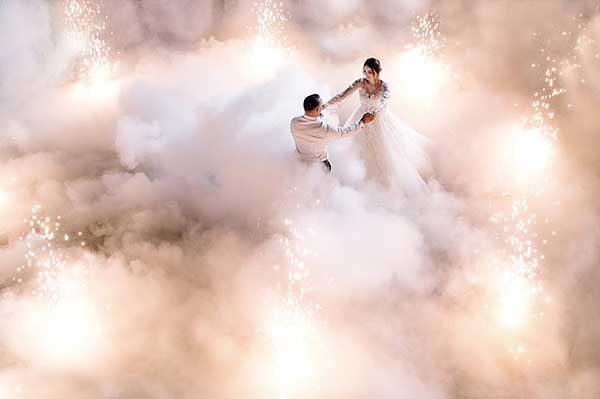 Тяжелый дым на свадьбу Минск